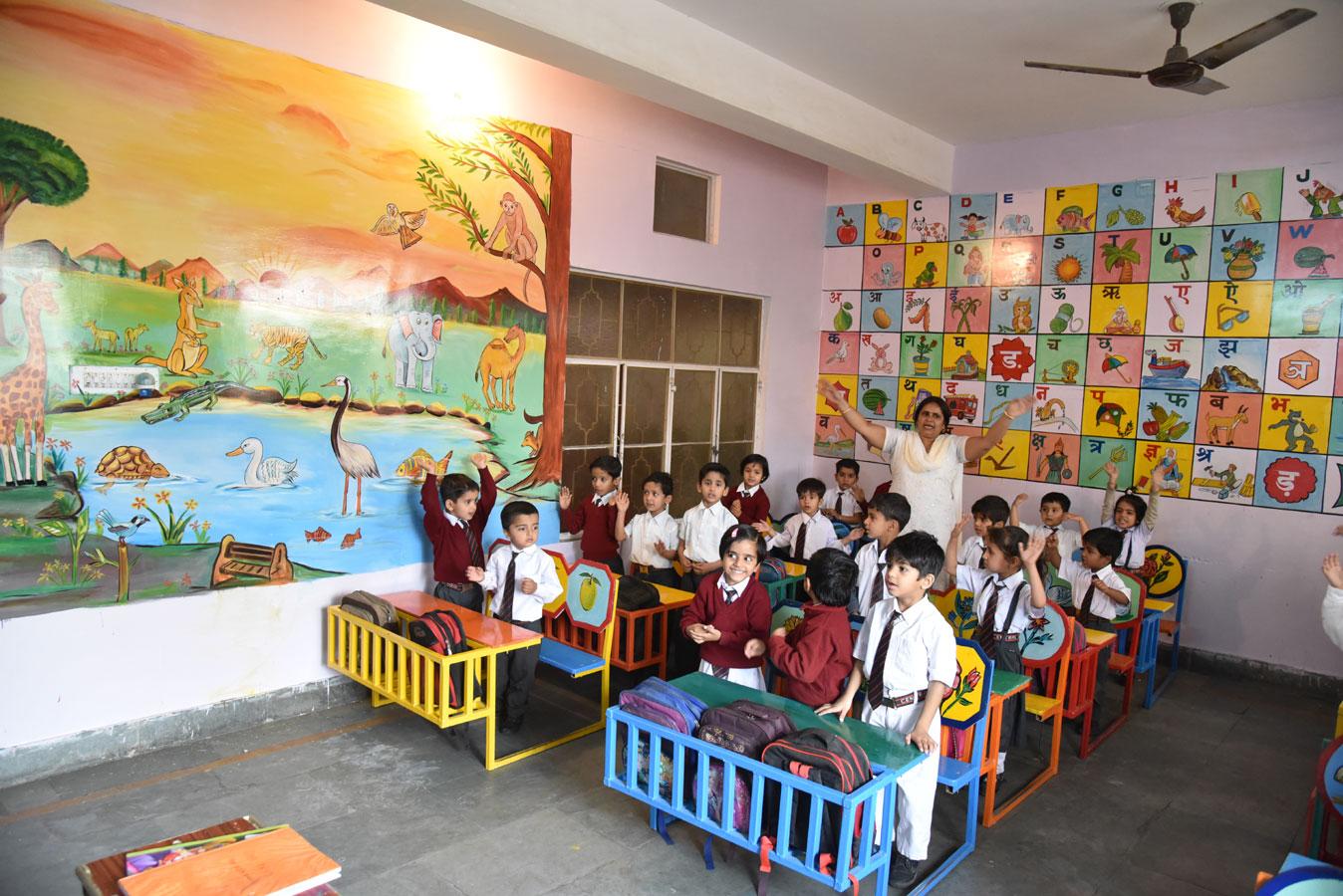 Primary Class Childern